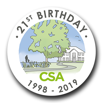 CSAE Birthday logo