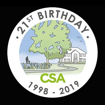 CSAE Birthday logo