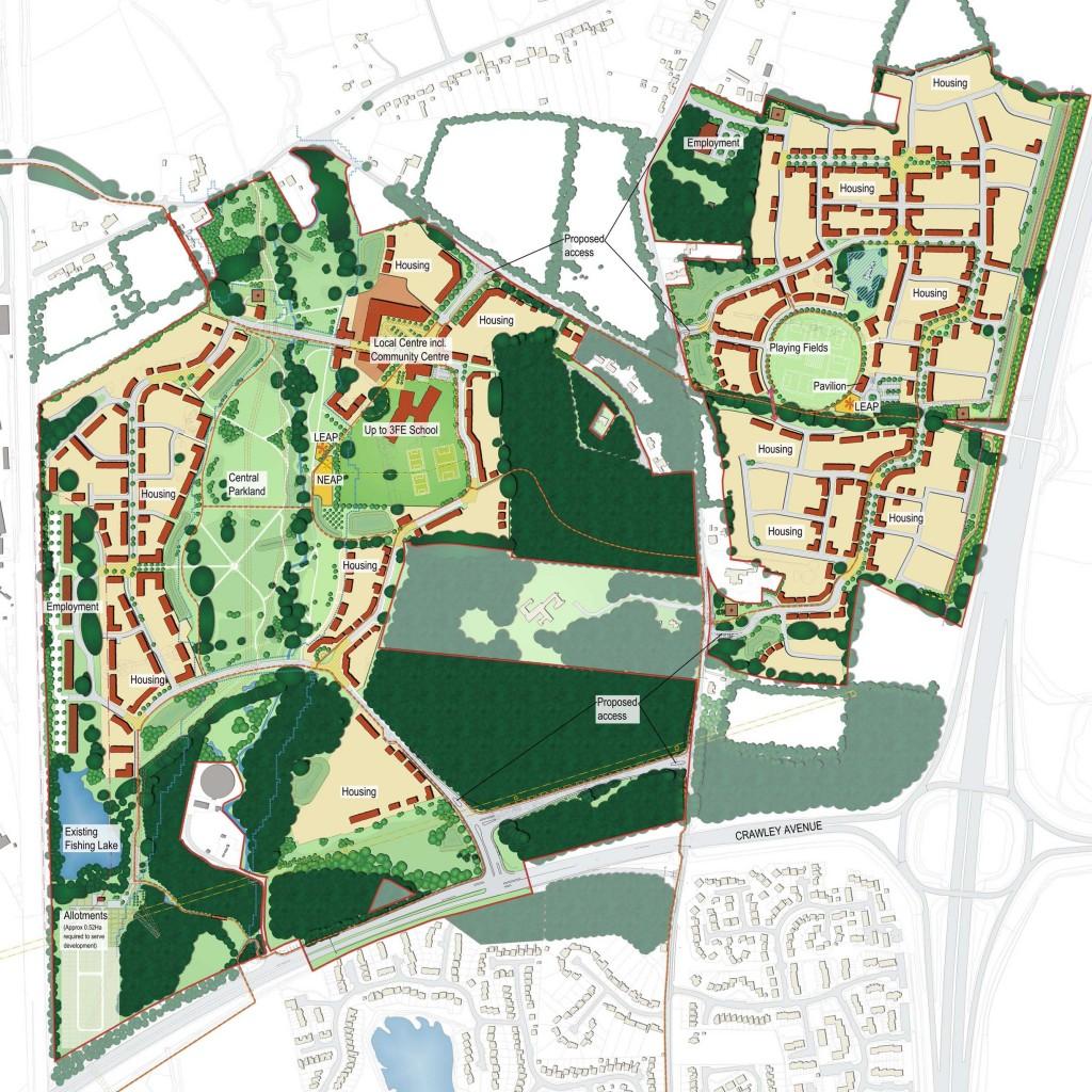 North East Crawley Masterplan
